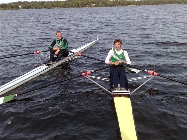 Mads Odden og Markus Christensen